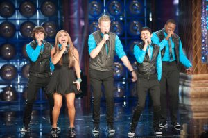 Pentatonix wows the audience with their electro-infused style.